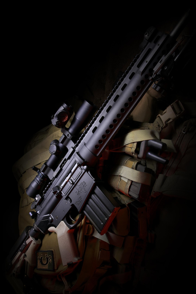 Cool Gun Wallpapers HD 640x960