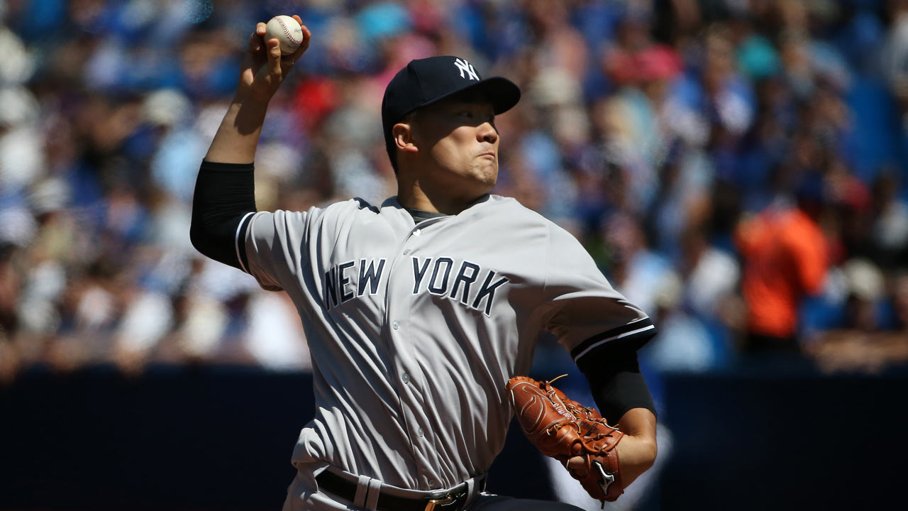 Tanakas complete game helps Yanks expand lead over Jays Toronto 1280x720