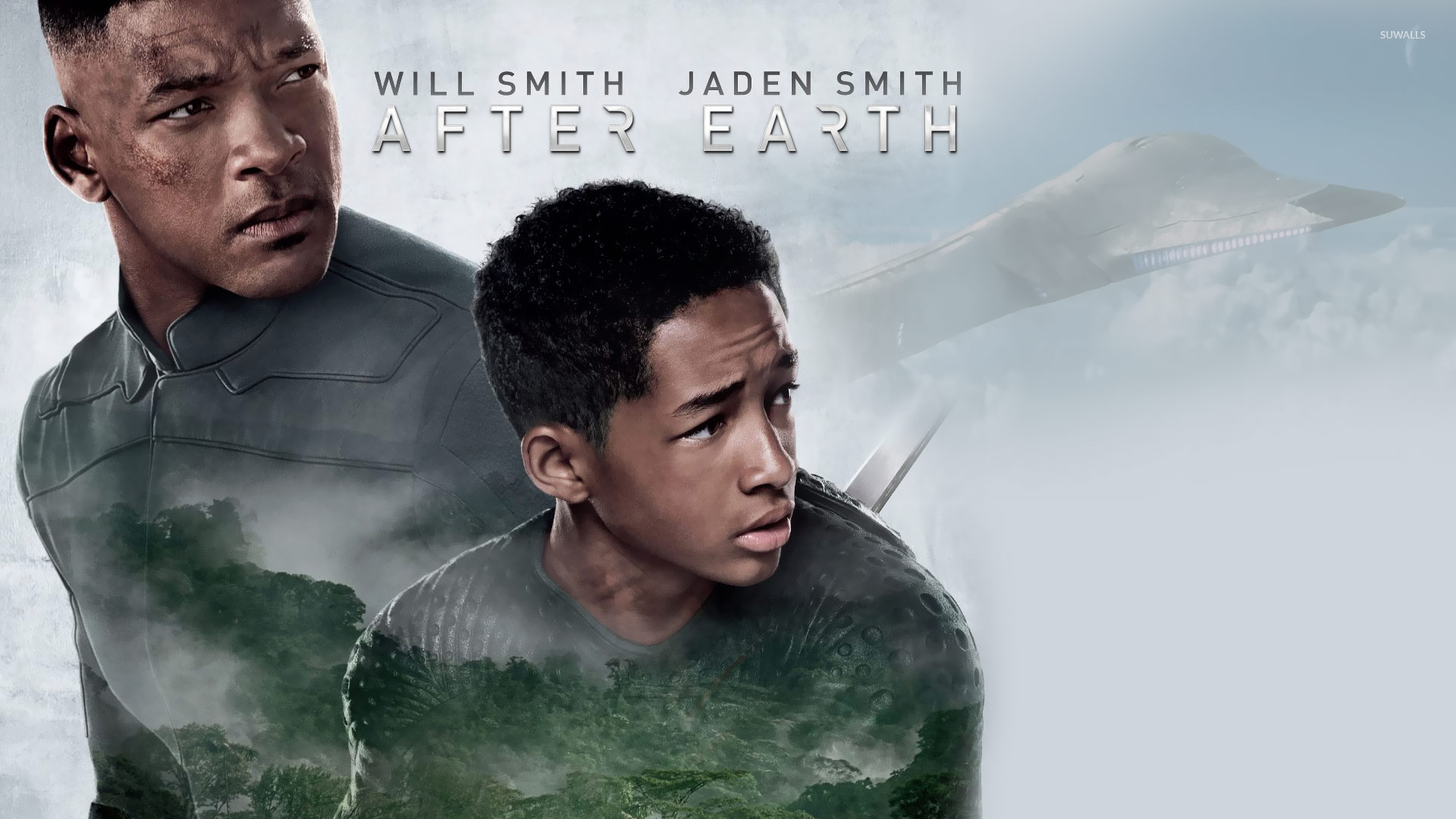 Cypher Raige and Kitai Raige   After Earth wallpaper   Movie 1920x1080