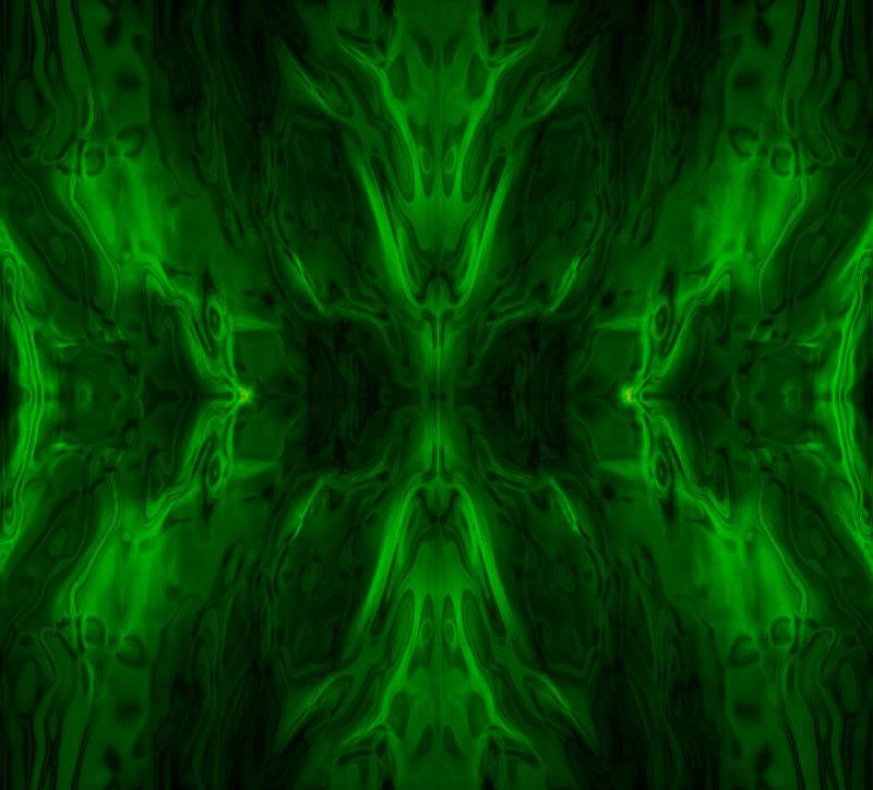 Green Desktop Wallpaper: Green Flame Wallpaper