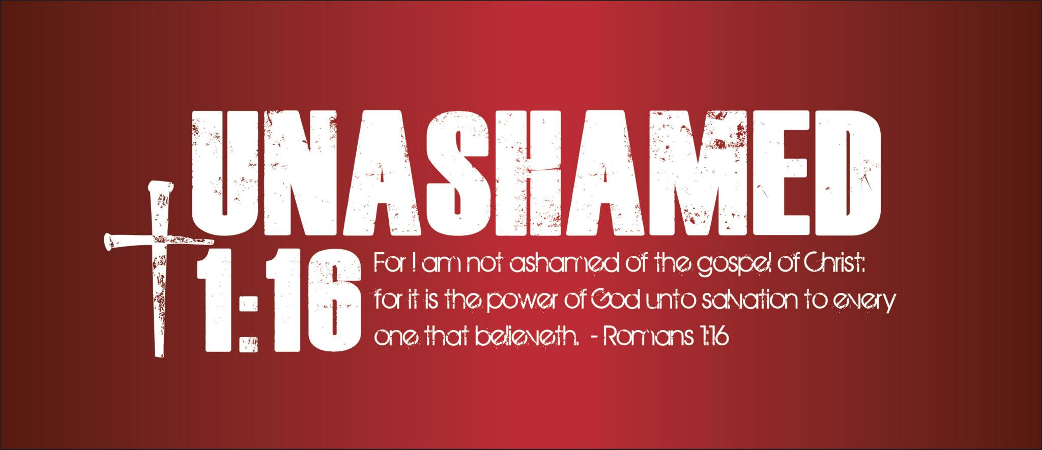 We created a New Banner Design for Unashamed 1 16 How does it look 2048x885
