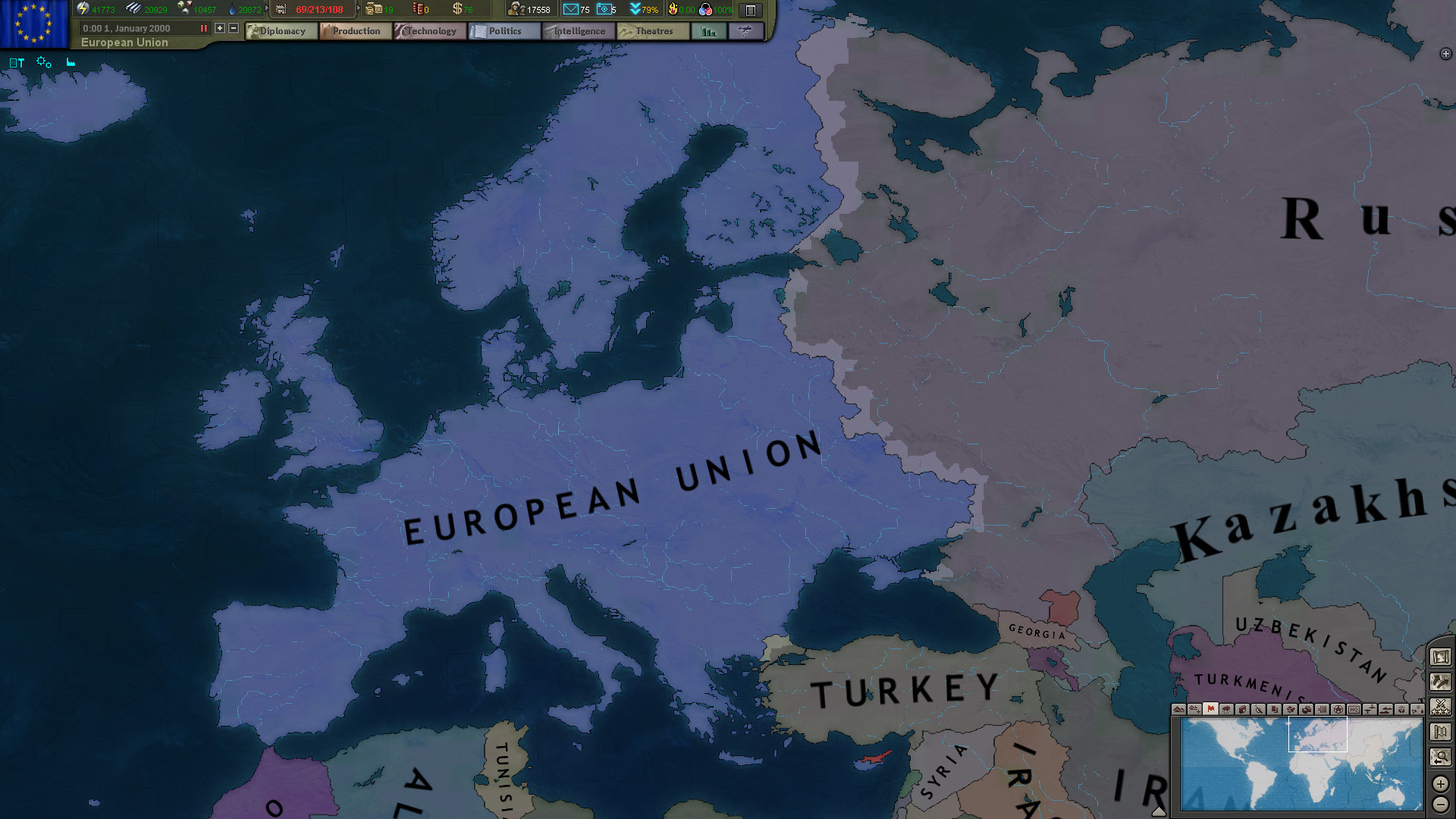 The European Dream image   Hearts of Iron III Modern Warfare 1920x1080