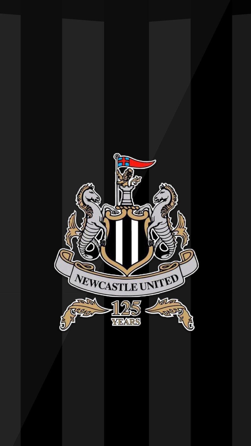 New club crest wallpaper for your phones NUFC 1024x1820