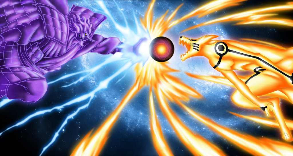 Naruto Vs Sasuke Final Battle HD Wallpapers 1024x544