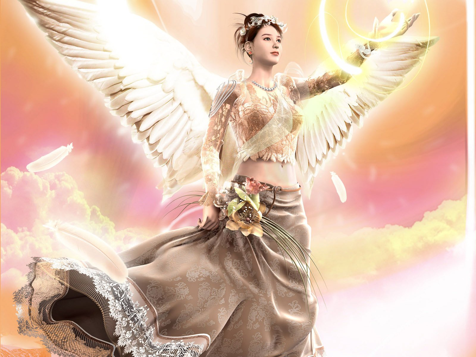 PIXHOME Beautiful Angels wallpapers 1600x1200