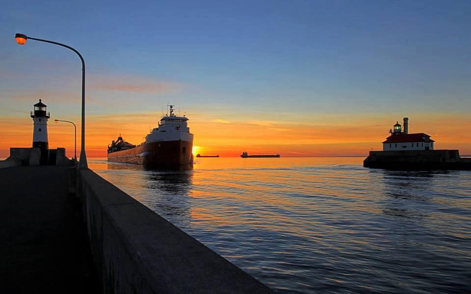 Ore ship Duluth Mn Lake Superior Pinterest 960x600