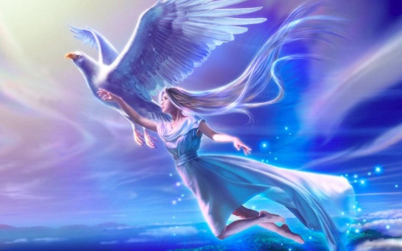 3D Angels Wallpaper WallpaperSafari