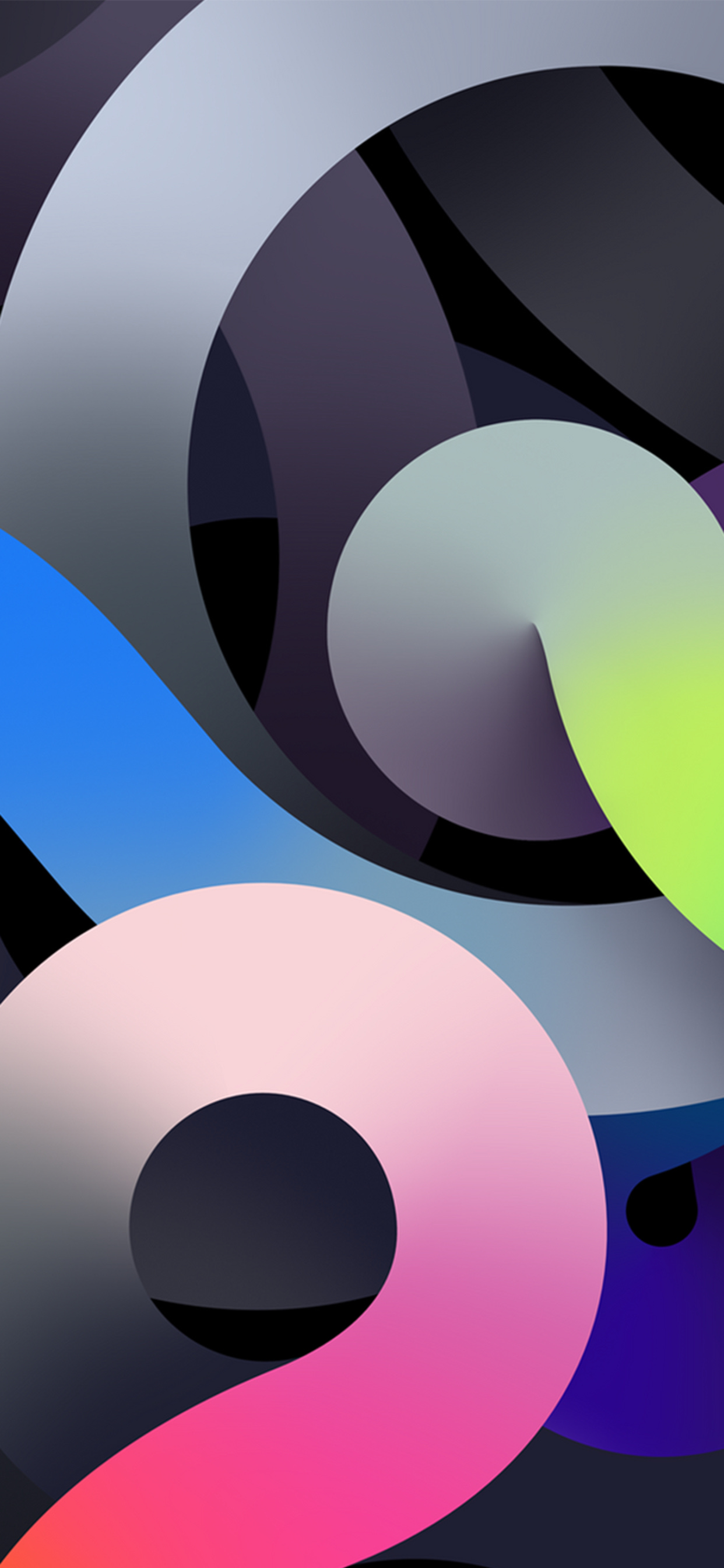 iPhone iPad and desktop wallpapers inspired by the new iPad Air 1242x2688