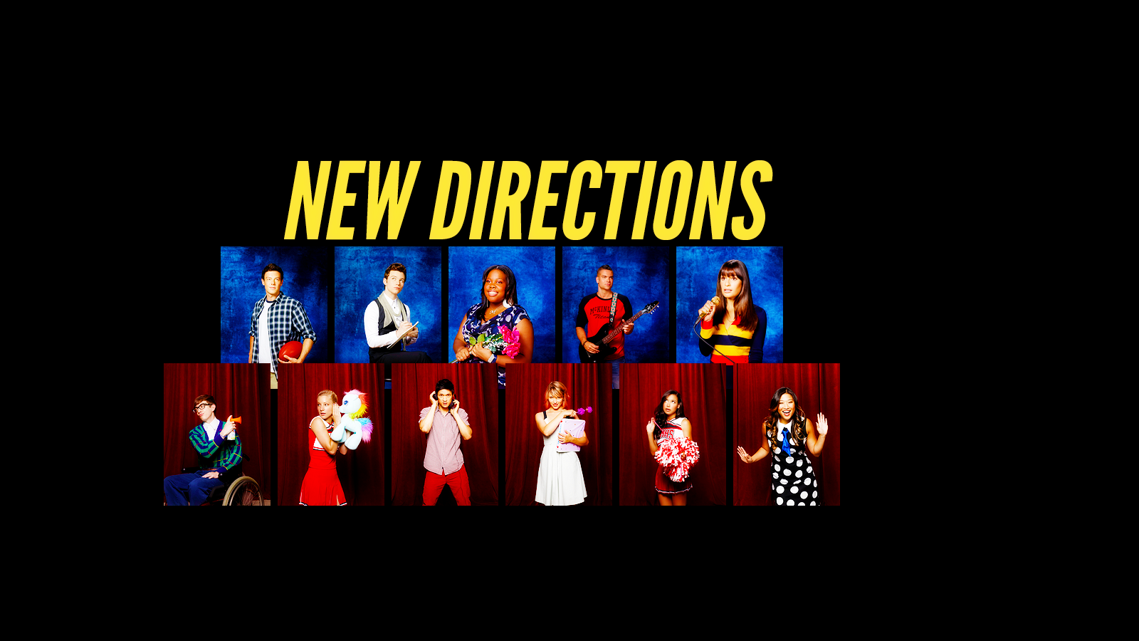 Glee Wallpapers 1600x900