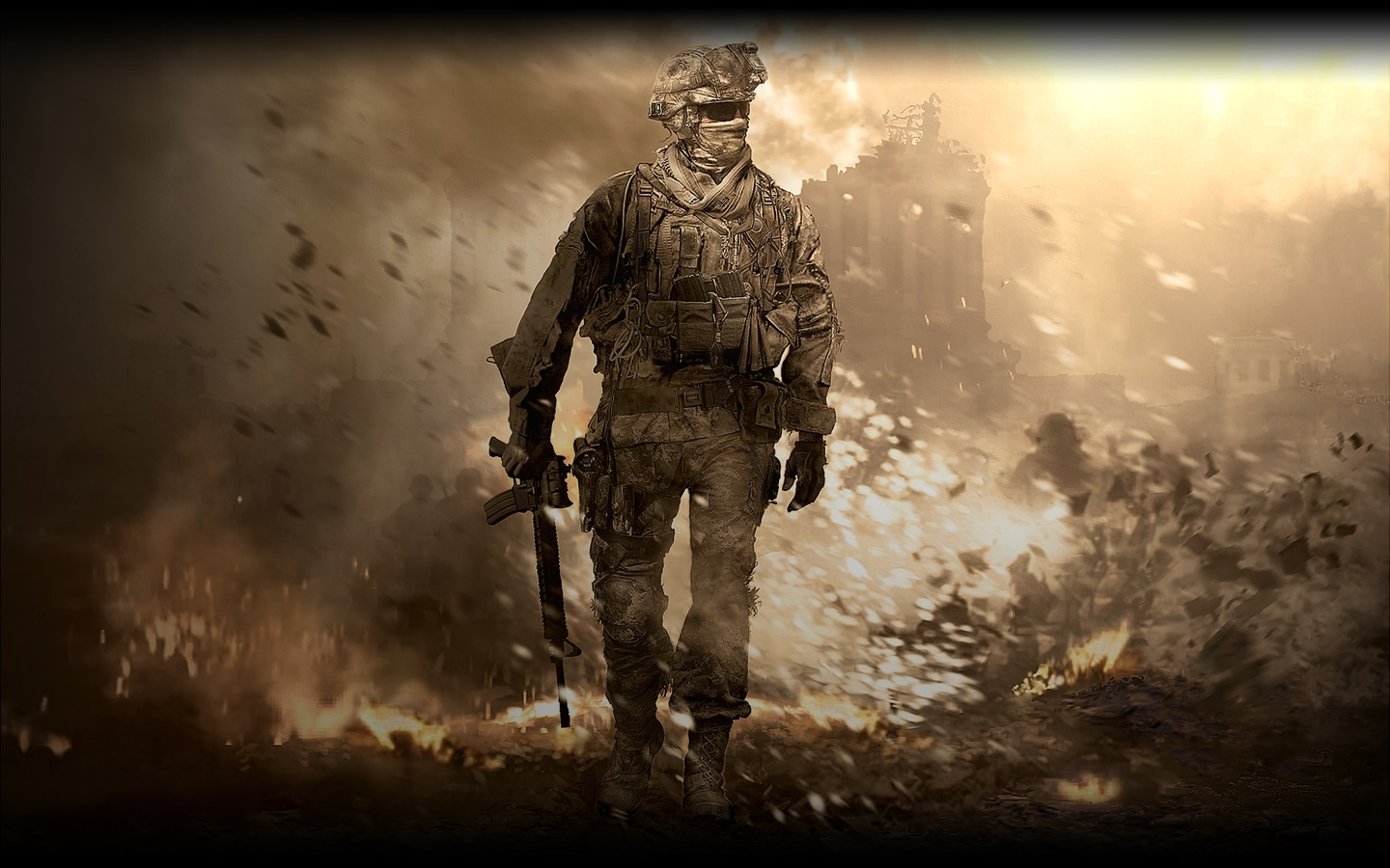 76 Mw2 Backgrounds On Wallpapersafari