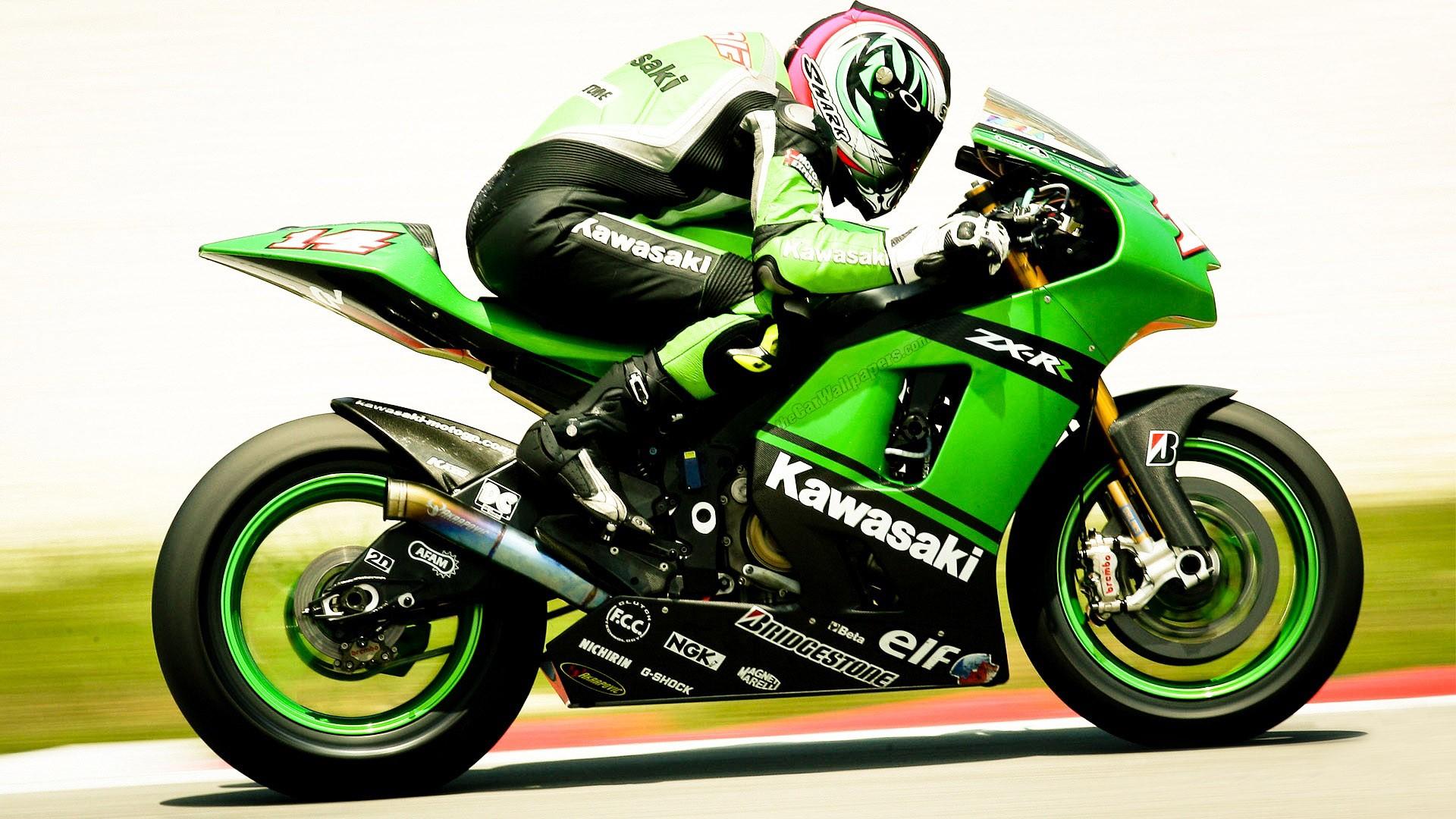 Kawasaki Racing MotoGP Wallpaper HD 9454 Wallpaper High Resolution 1920x1080