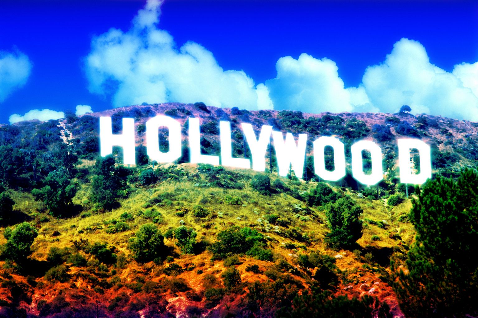 Hollywood Sign Wallpap...