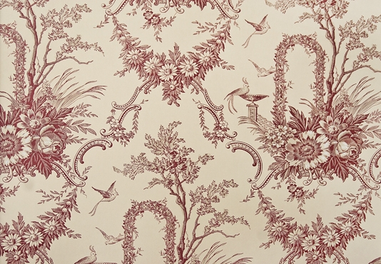 Archway Toile Wallpaper Elegant Toile Wallpaper in cream with delicate 534x370