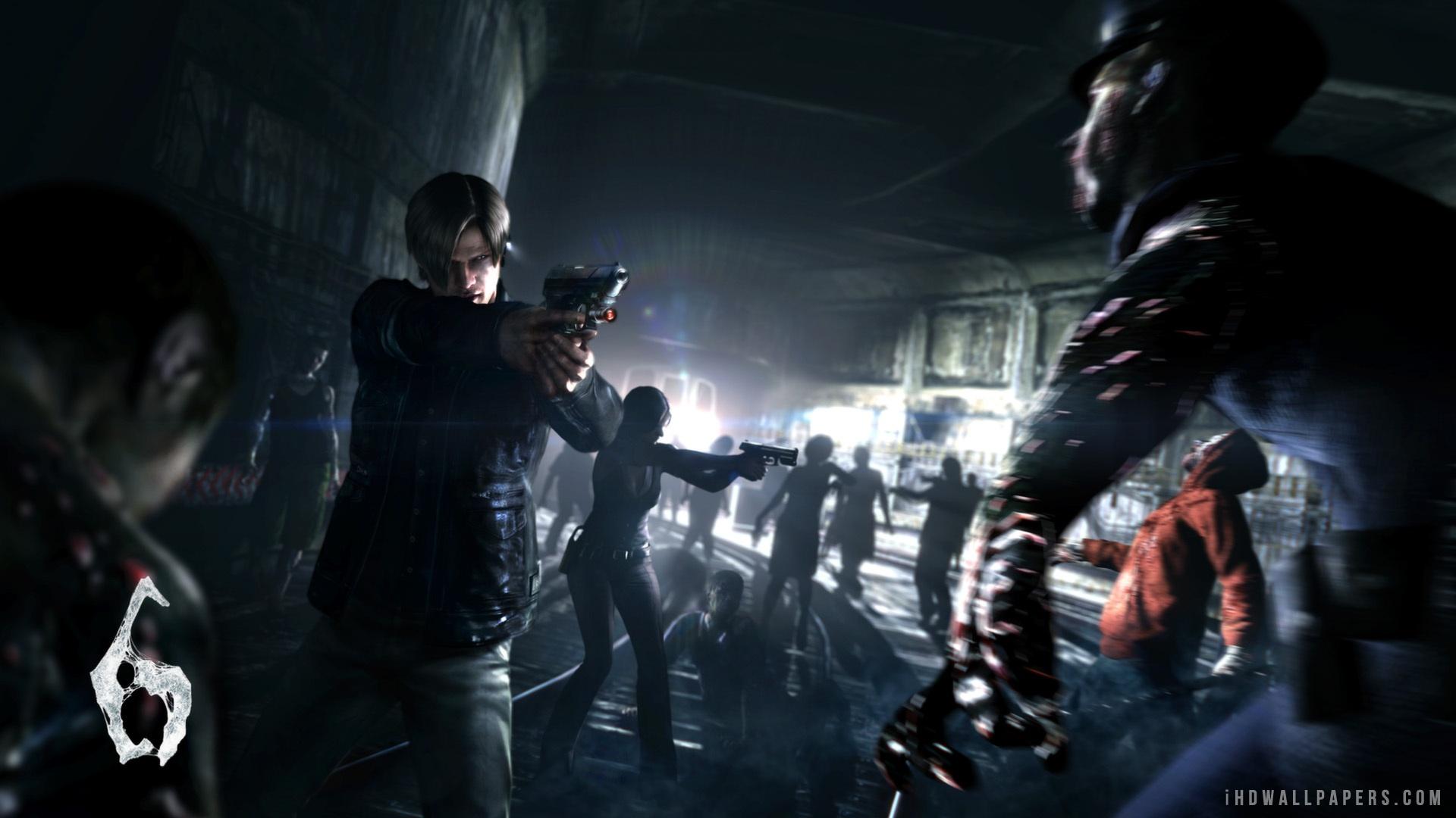 50+] Resident Evil 6 Wallpaper on WallpaperSafari