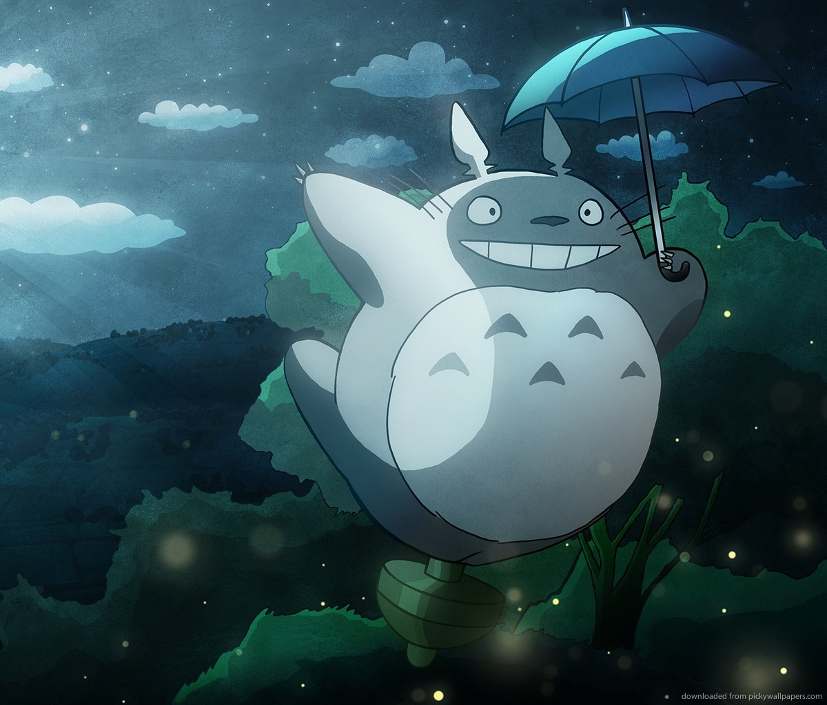 My Neighbor Totoro Wallpapers - WallpaperSafari