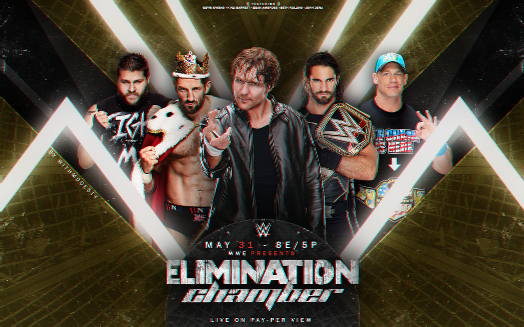 Wwe Elimination Chamber Wallpaper 1 by withmodesty on 1024x640