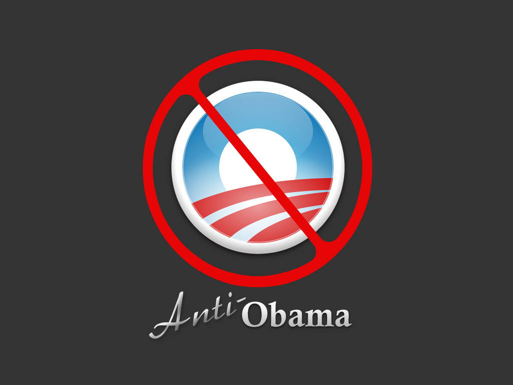 Anti Obama by KronicDreamer 1024x768