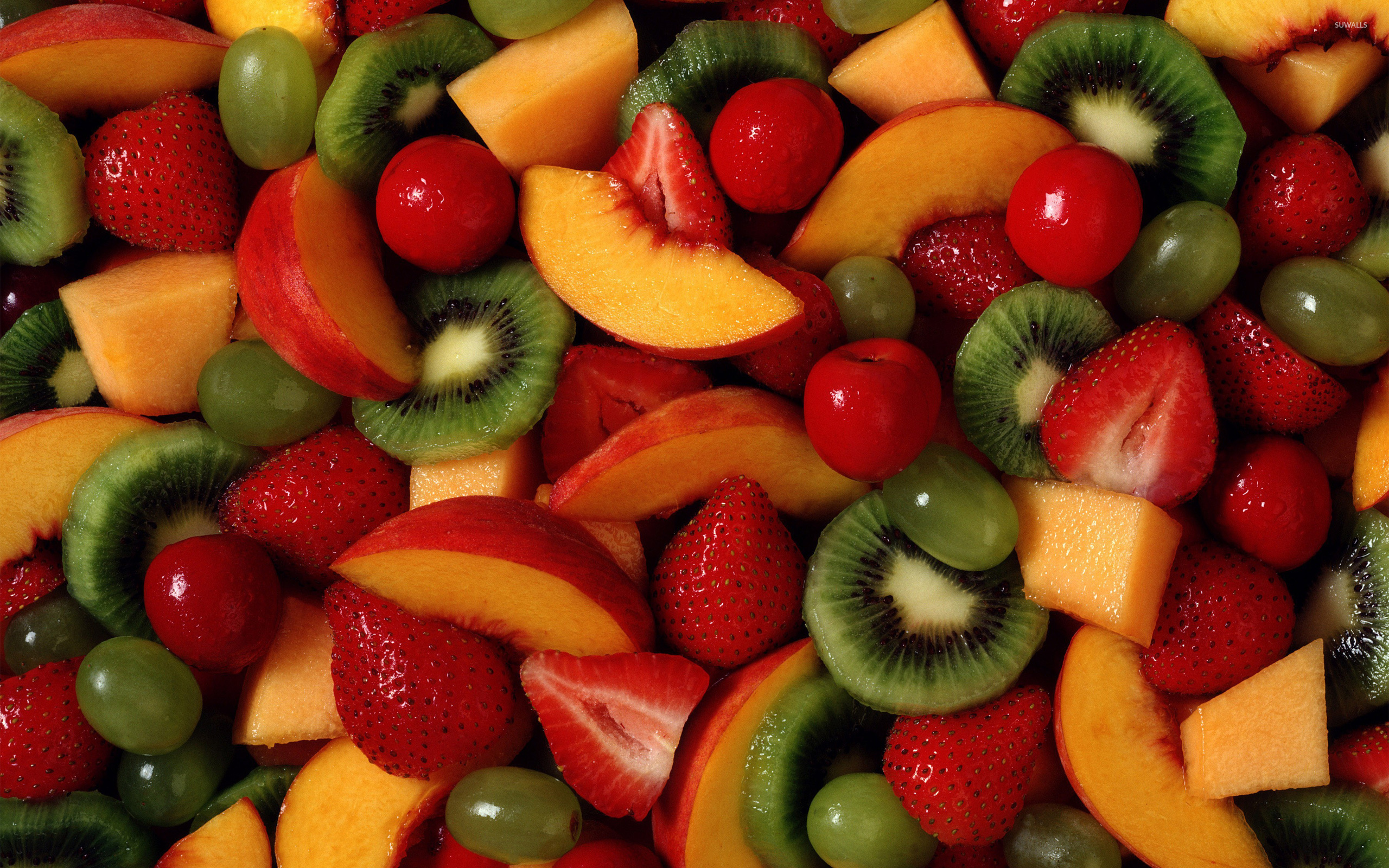 Fresh Fruit Vector Download 2560x1600