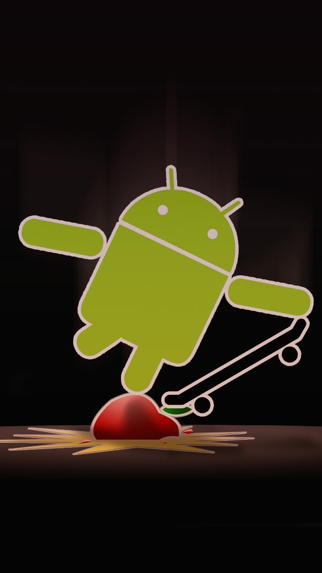Android Skateboard iPhone 5 Wallpaper 640x1136 640x1136