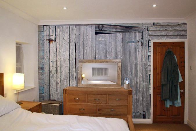 distressed wood wallpaper wallpapersafari