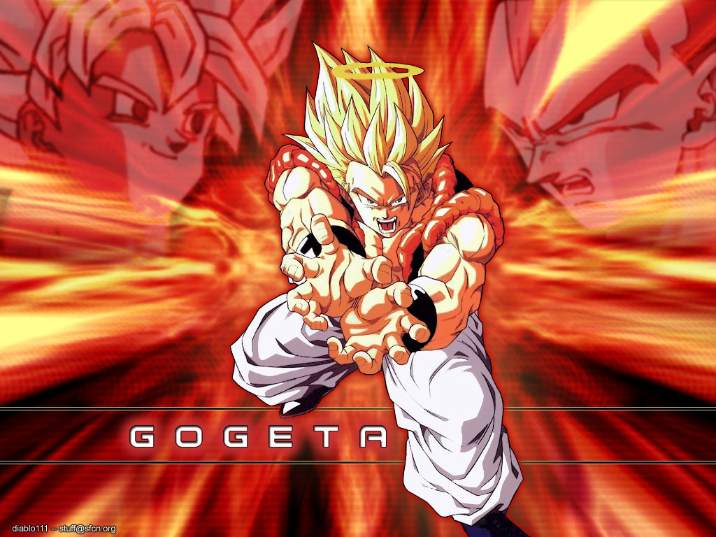 Gogeta wallpaper 4   Dragonball Z Movie Characters Wallpaper 16255574 1024x768