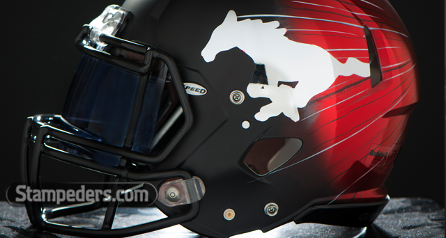 Stamps unveil new helmets   Calgary Stampeders 640x342