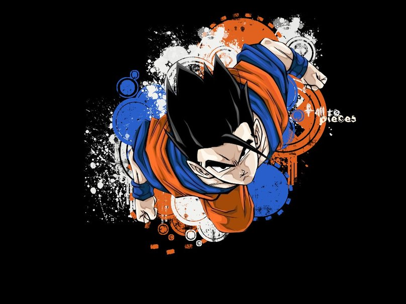 Dbz wallpaper gohan wallpapersafari - Papier peint dragon ball z ...
