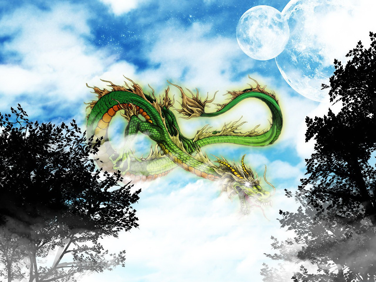 Chinese dragon wallpaper 1280x960 Wallpapers 3d for desktop 3d 1280x960