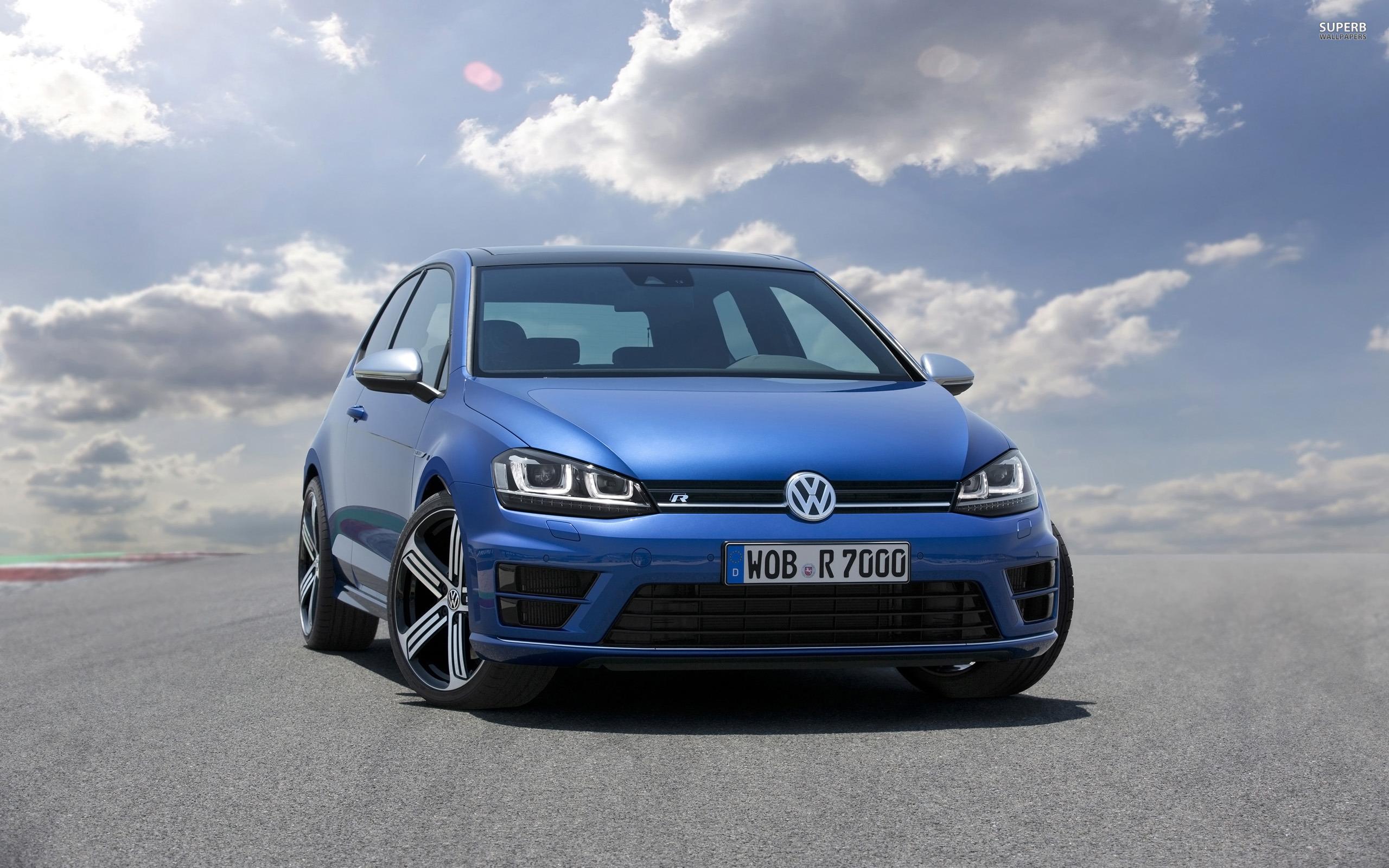 2014 Volkswagen Golf R Desktop Wallpaper CarsWallpaperNet 2560x1600