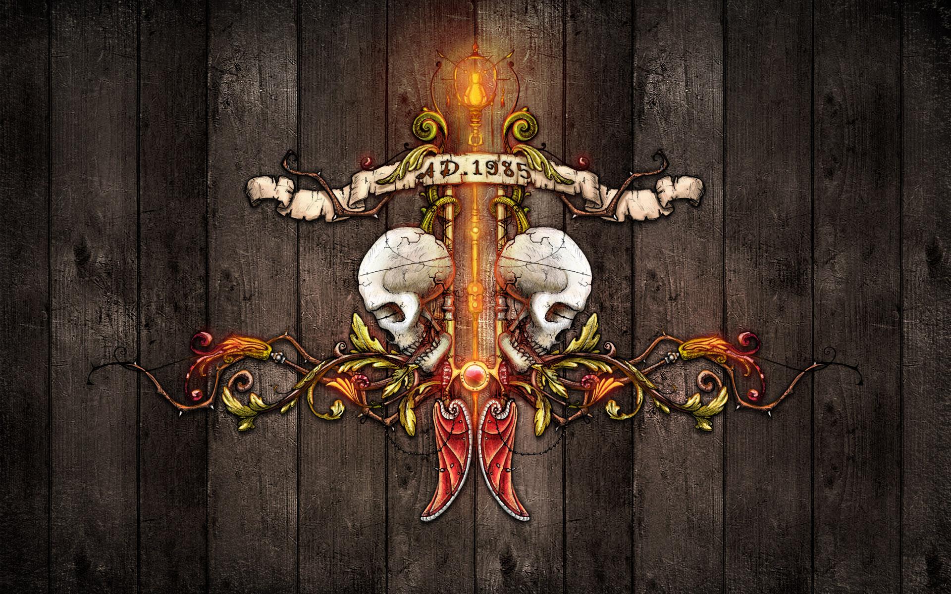 Punk Skull Wallpaper