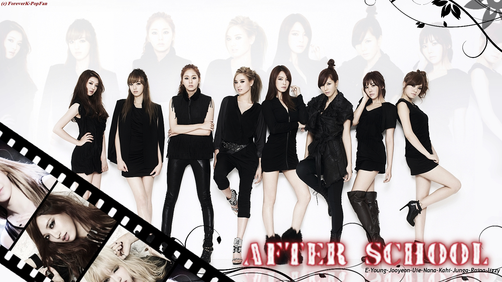 After School Profile   KPop Music 1600x900