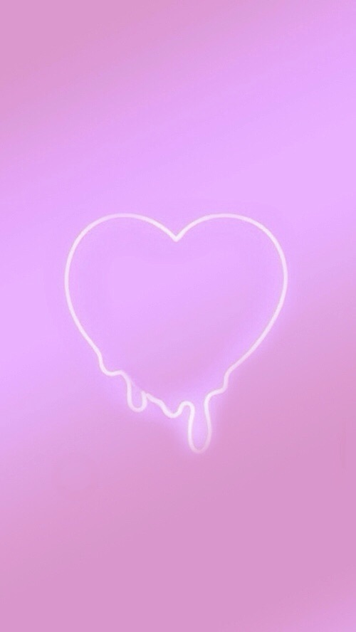 aesthetic aesthetics background cute girly heart 500x888