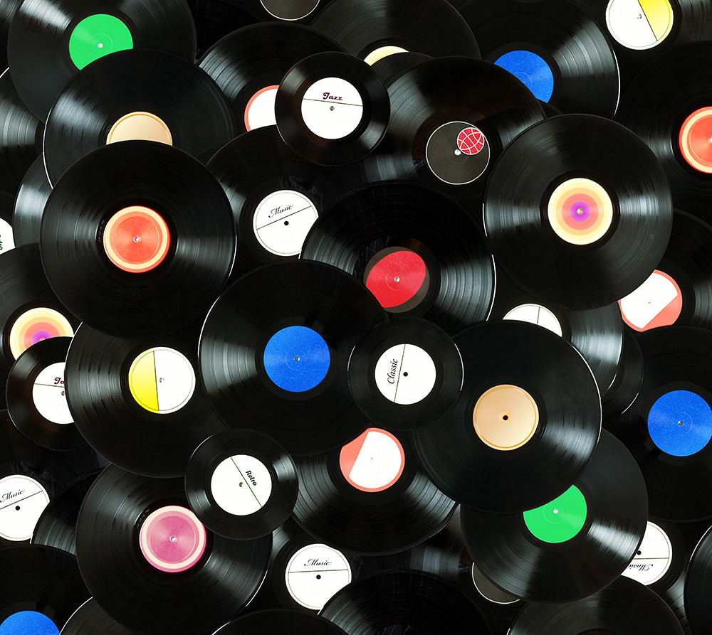 Record wallpaper wallpapersafari for What to do with old vinyl records