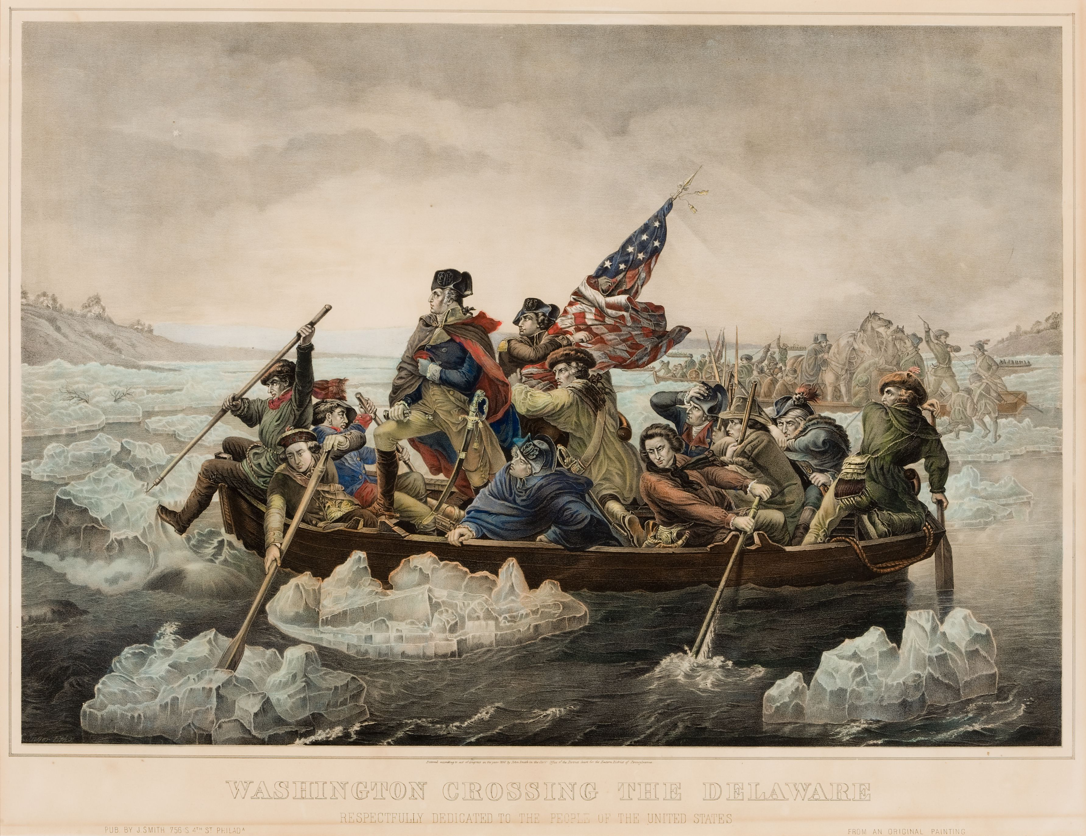 george washington crossing the delaware essay 1 george washingtoncrossing the delawaremr breheneyus history iroom 21 2 why cross the delawarewhy thengeorge washington crossing the delaware wasa desperate move when the country needed itthe mostgave a morale boost to the troopshessians occupied trenton on.