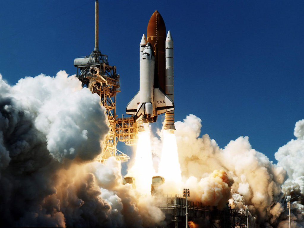 Download Space Shuttle wallpaper, 'Space shuttle 7'.