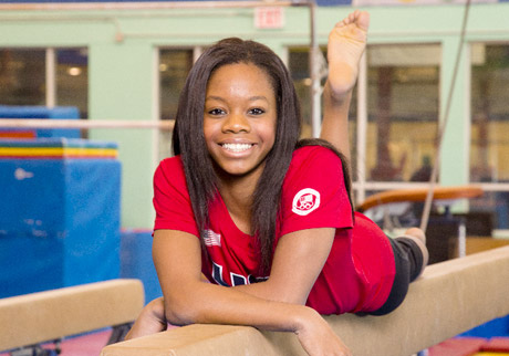 Gabby Douglas images this girl is on fire wallpaper and 460x322