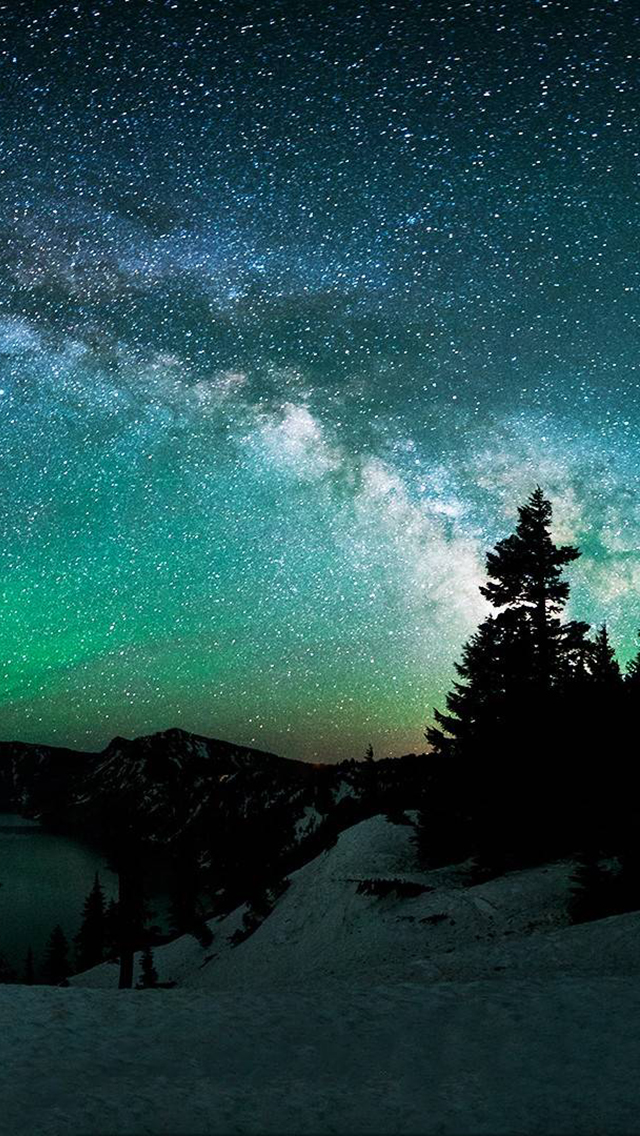 Stars in Alaska iPhone 5 Wallpaper 640x1136 640x1136