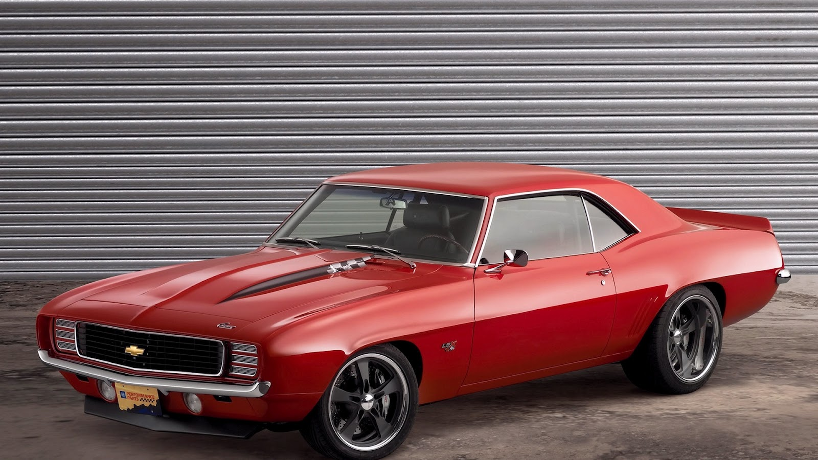 Red muscle Camaro SS 67 car wallpaper Home of Wallpapers 1600x900