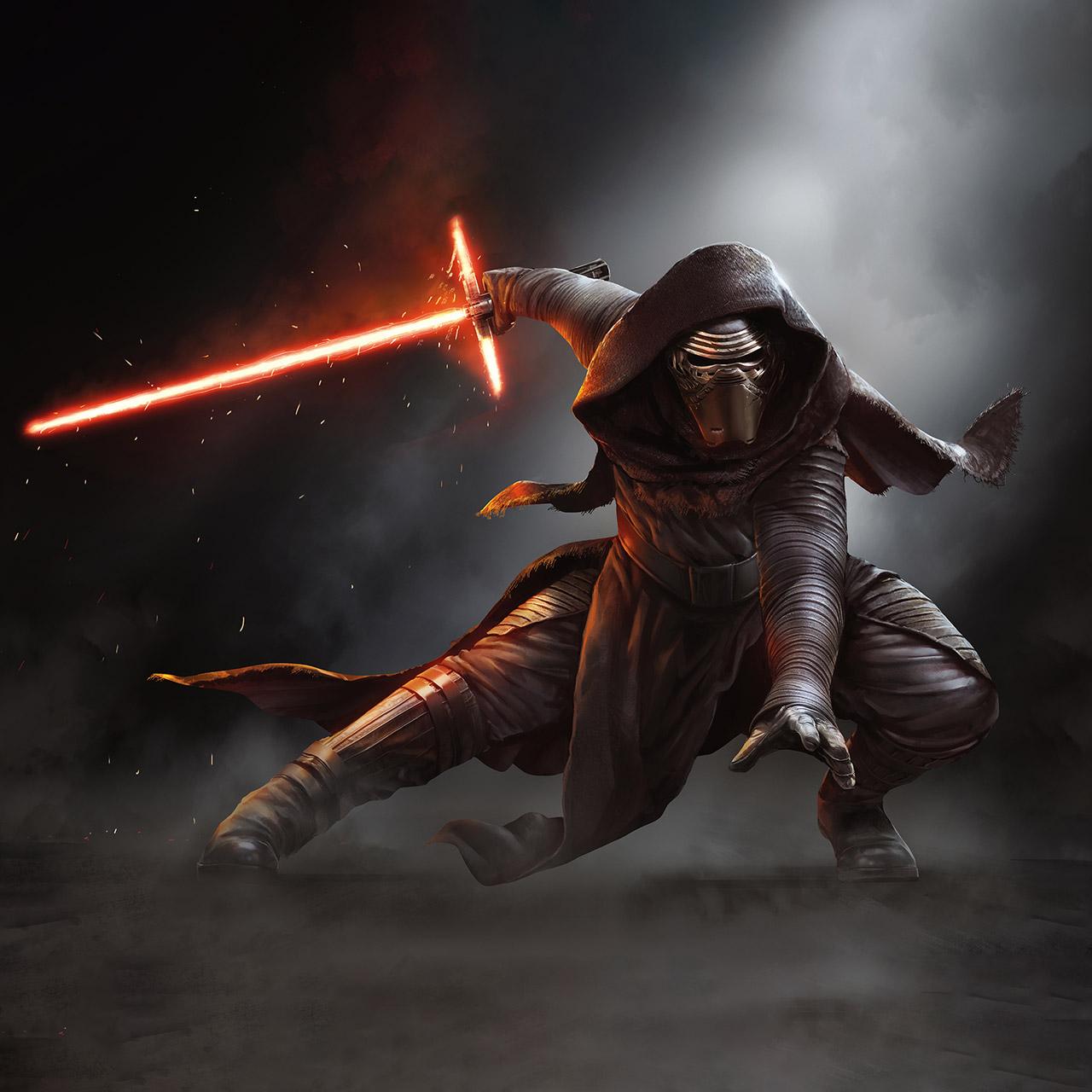 Star Wars The Force Awakens Kylo Ren Google Nexus 7 wallpapers 1280x1280