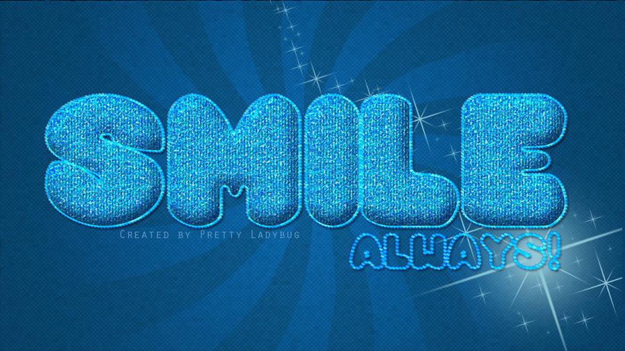 Wallpaper Smile Always By PrettyLadybug093 900x506