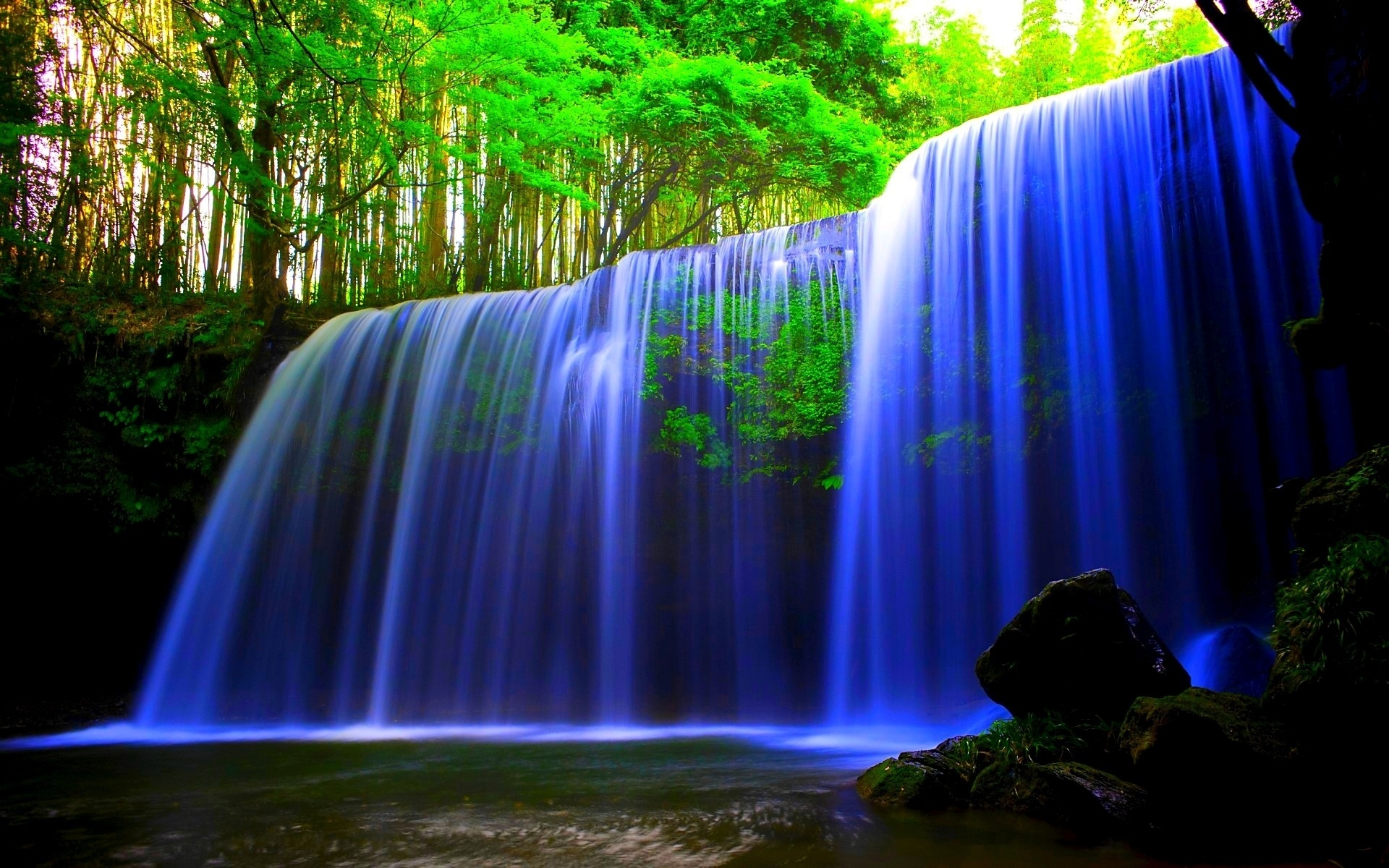 wallpaper download for pc which is under the waterfall wallpapers 1920x1200