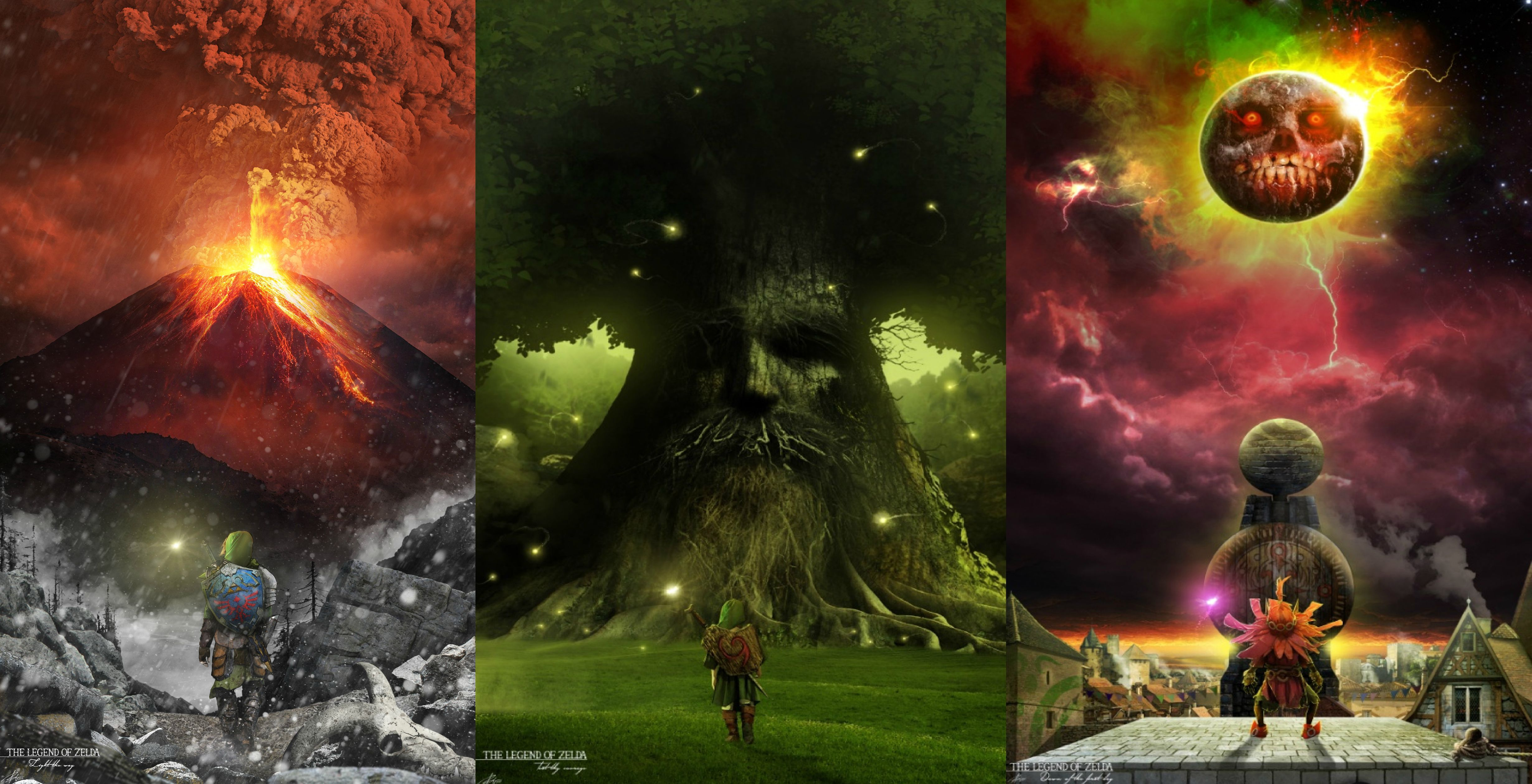 Awesome Legend of Zelda Wallpapers   Top Awesome Legend of 4920x2520