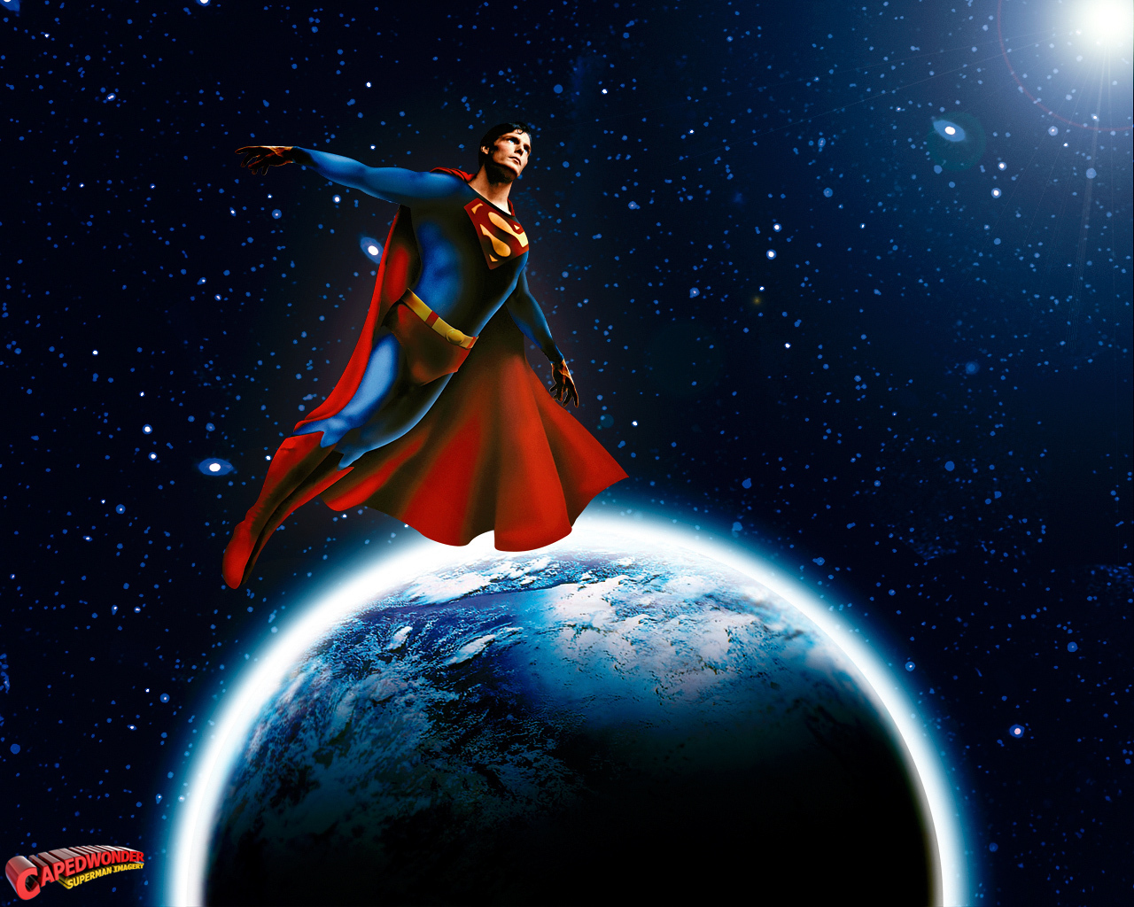 Superman   Superman The Movie Wallpaper 20439343 1280x1024