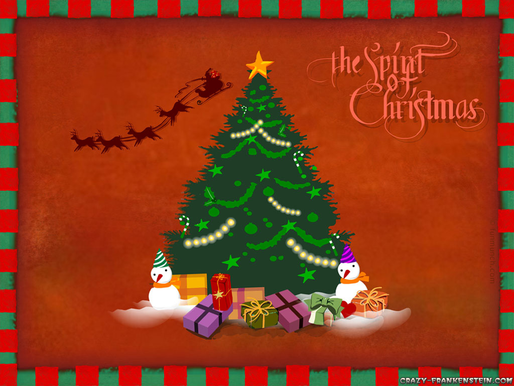 Christmas Tree Wallpaper Widescreen 8221 Hd Wallpapers in Celebrations 1024x768