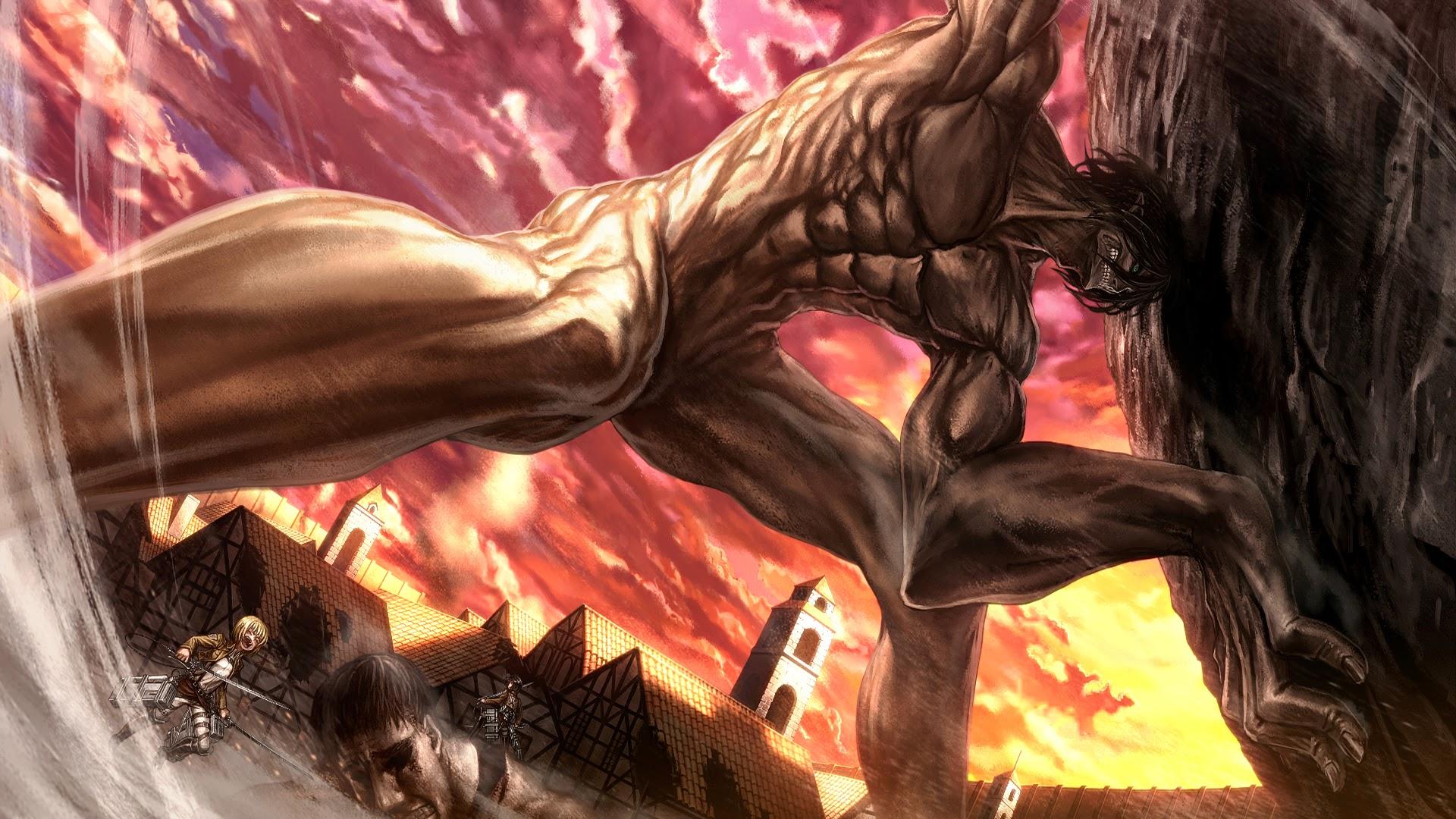 rogue titan attack on titan shingeki no kyojin anime hd wallpaper 1920x1080