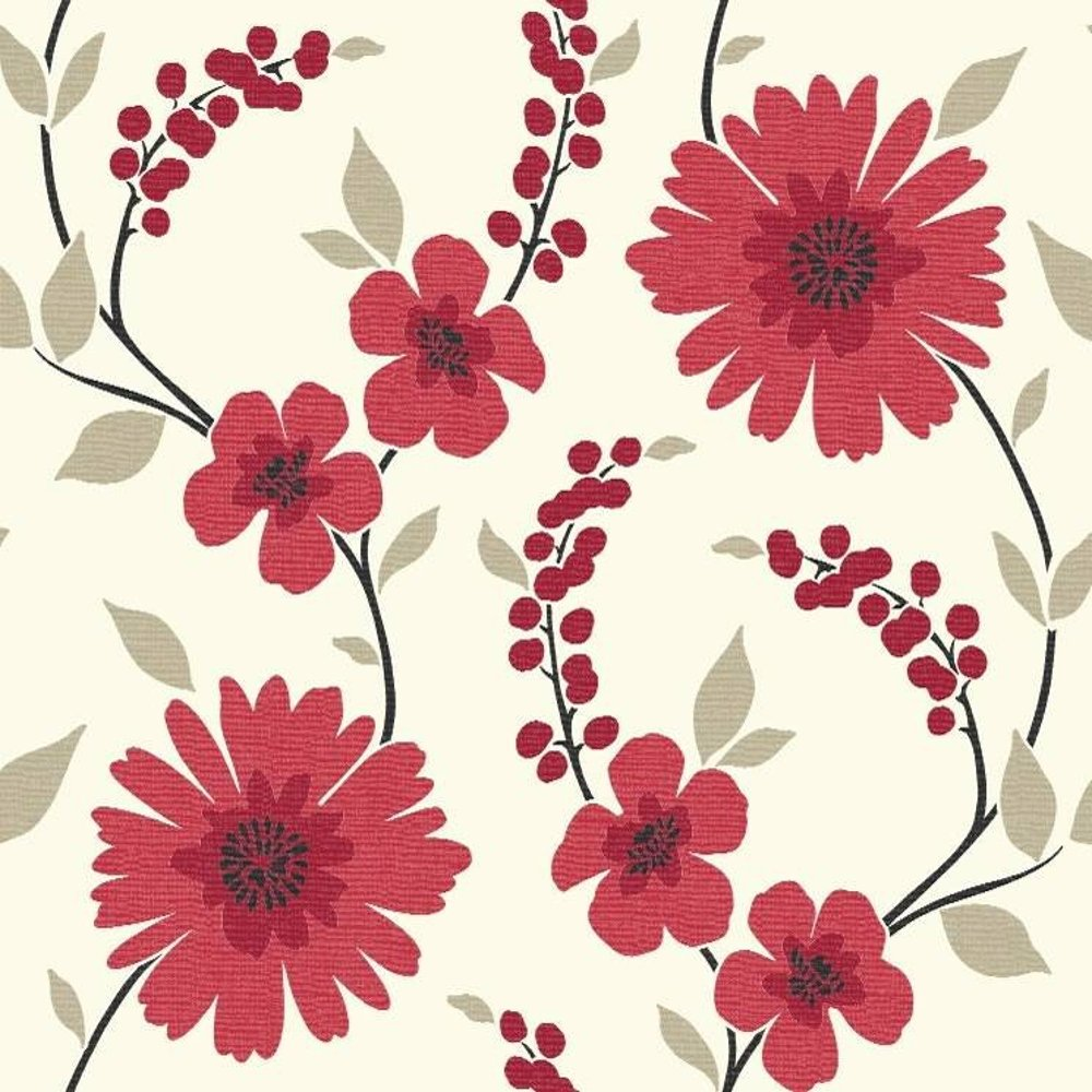 Home Wallpaper Arthouse Arthouse Stansie Floral Trail 1000x1000