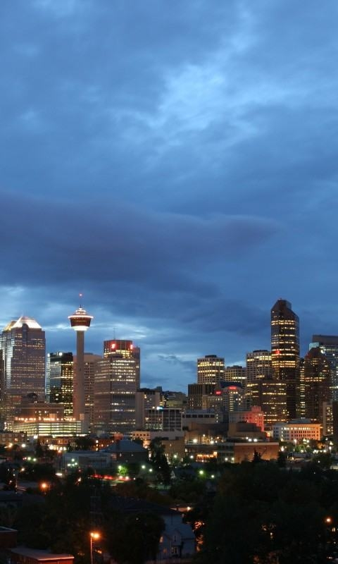 Calgary Stampede Sunset Alberta Canada Wallpaper wallpapers HD Wa 480x800
