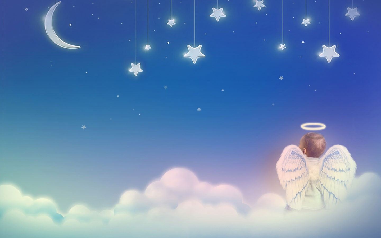 snow angel wallpaper cartoon - photo #31