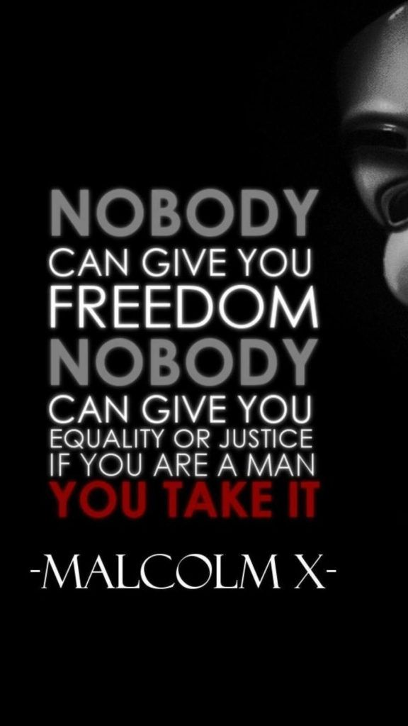 Free Download Malcolm X Iphone Wallpaper The Righteous Mind V For
