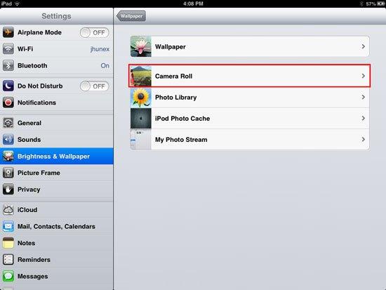 How to change wallpaper on iPhone iPad and iPad Mini 550x413